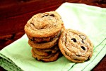 Chewy Biscoff chocolate chip cookies