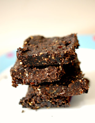 Healthy No-Bake Thin Mint Brownies for Vivica (Desserts for the Deserving)