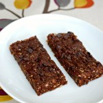 Vegan Samoas breakfast bars