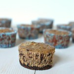 Mini Thin Mint cheesecakes