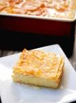 Greek custard pie (galaktoboureko)