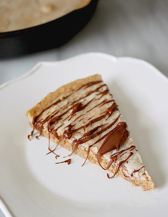 churro skillet cookie