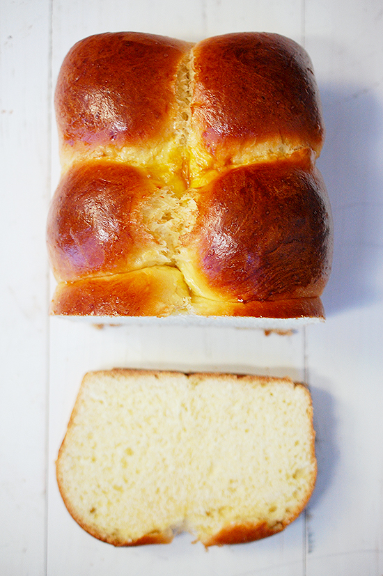 4 egg yolk brioche bread