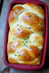 scallion pancake challah bread