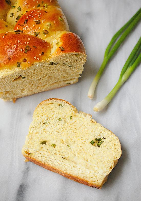 scallion pancake challah bread