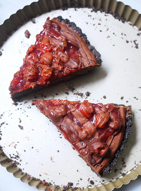 black forest tart