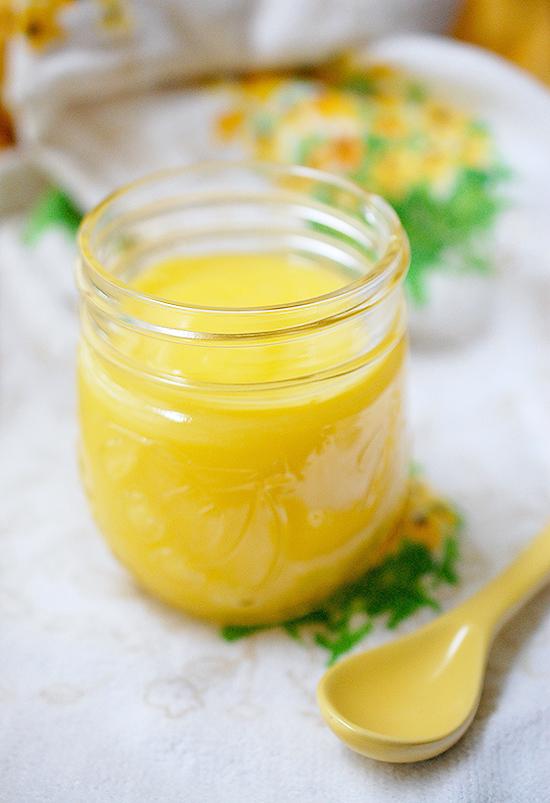 Easy 5-ingredient lemon curd