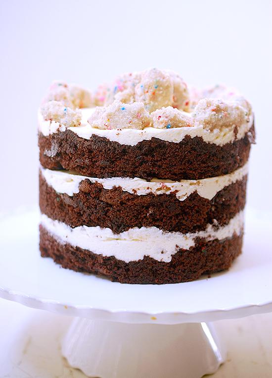 Momofuku Milk Bar chocolate birthday cake