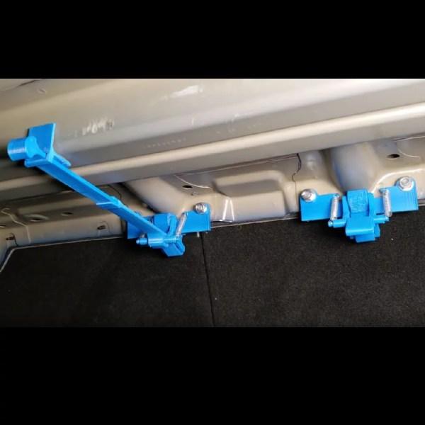 Tesla Model 3 Rear Seat Lock Set