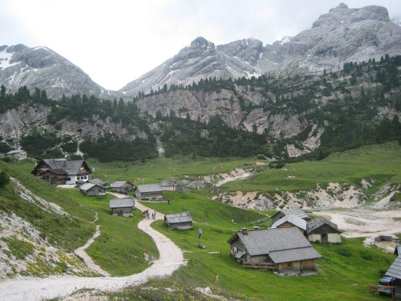 Ucia Fodara Fedla, Dolomiti Italia