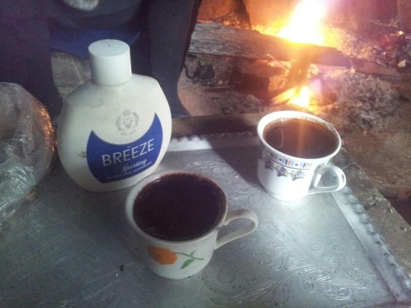 Hiking_Via_Dinarica_drinking_raki_Albania