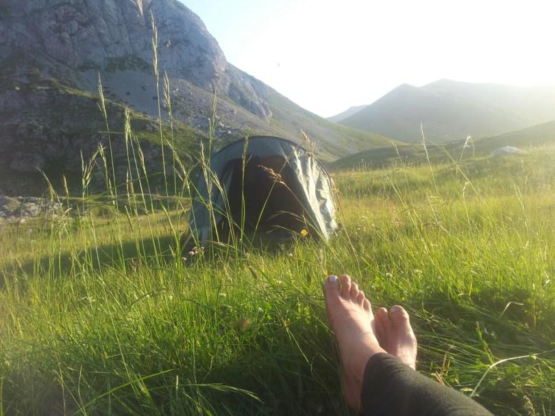 Via Dinarica Montenegro | Chillen voor de tent | Komovi NP