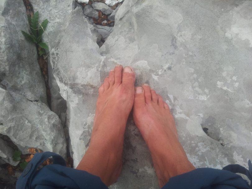 FiveFingers in de bergen | Pauza