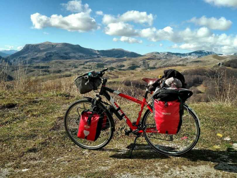 Via Dinarica White Trail Bosnia and Herzegovina by bike