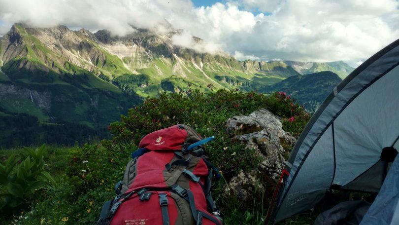 Wildkamperen in de Alpen | No-budget avonturieren is zo erg nog niet, toch?