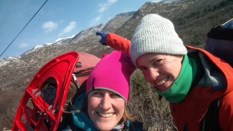 Trailhead Gornja Klada | Sneeuwschoenwandelen op Velebit