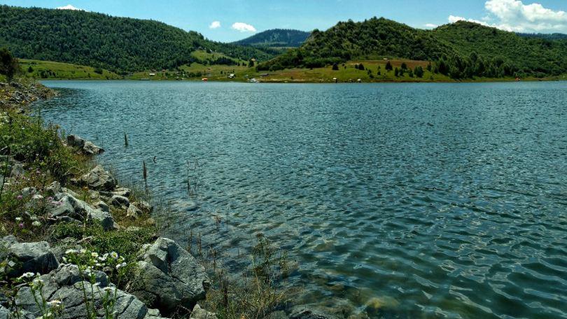 Uvac lake, Serbia
