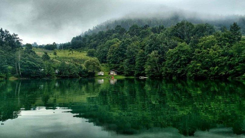 Zlatar lake, Serbia
