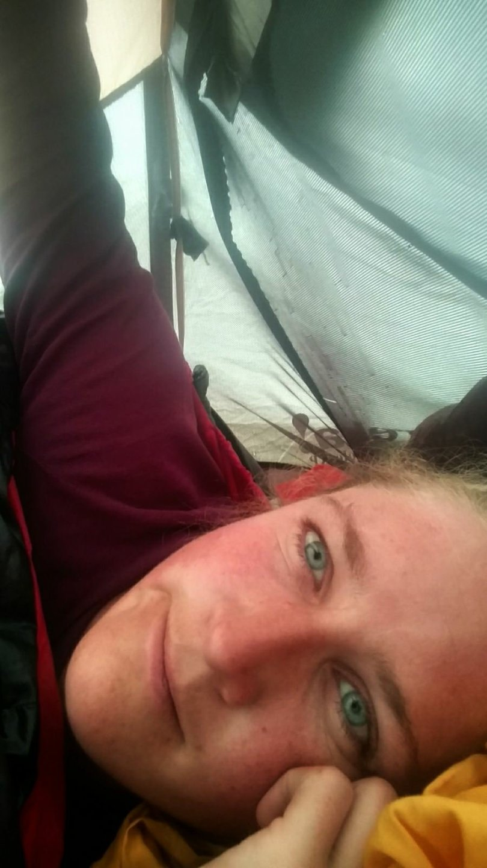 Met Botte & Ype in de tent