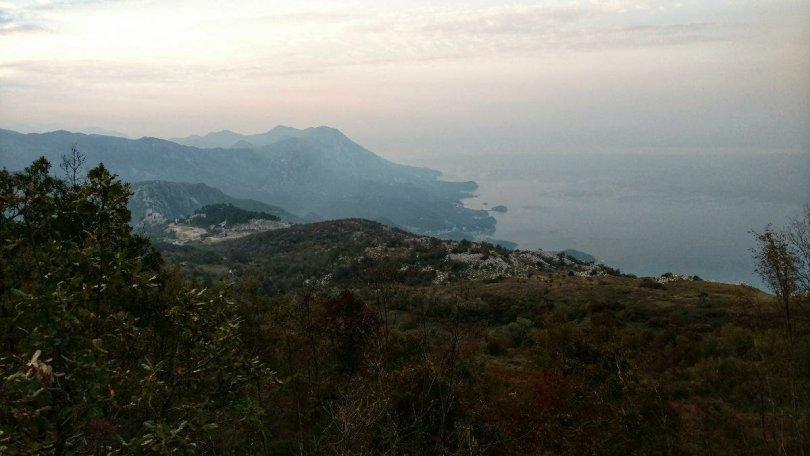 A lazy day with hazy views