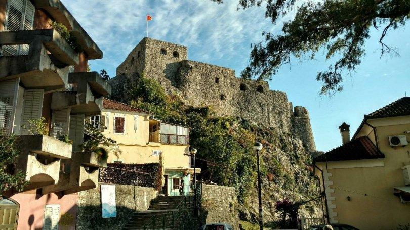 Herceg Novi Fortress at the Sea