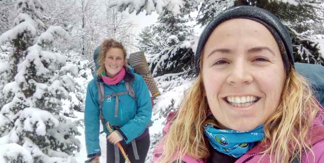 Hiking on Trebević mountain, Bosnia and Herzegovina