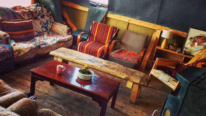 Living Room Mountain lodge Jure Franko