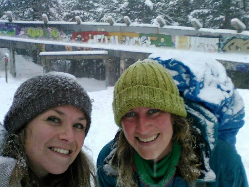 Hike & pose at the bobsled, Sarajevo