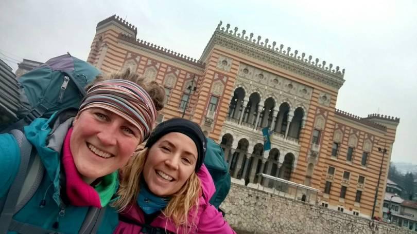 Trailhead Trebević hike to Mountain hut Jure Franko