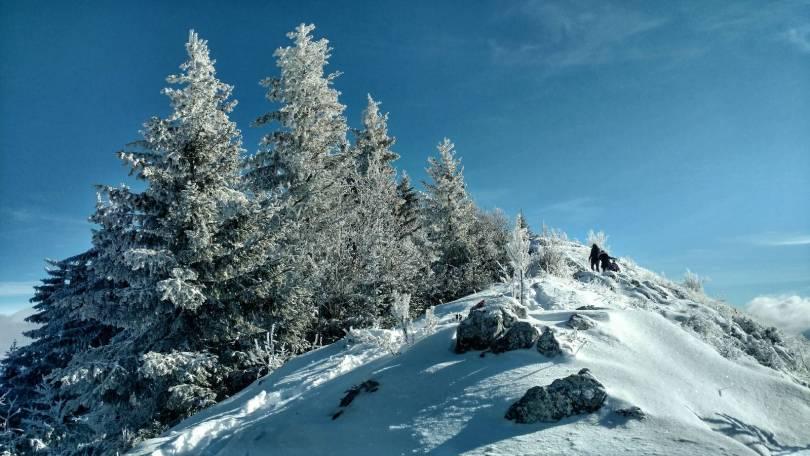 My favourite part, the ridge on Trebević