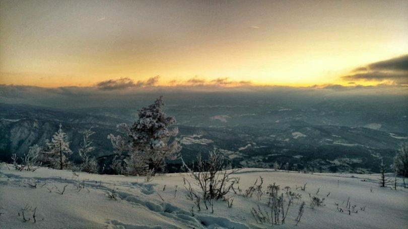 Mountain views on Trebević, Bosnia and Herzegovina