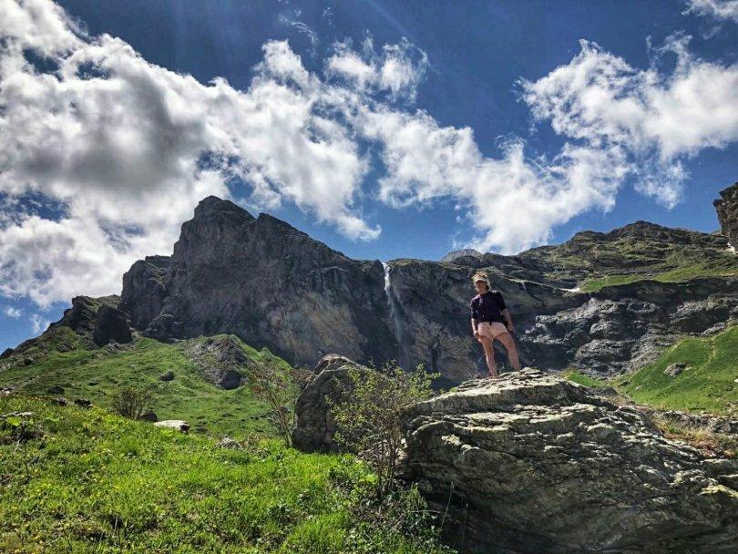 Hiking to Korab waterfall in Mavrovo National Park