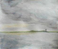 Terschelling, 2008, mit Passepartout und Rahmen, 40 x 50 cm