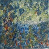 Herbstsymphonie, 2011 Powertex Easy 3D Leinwand 20 x 20 cm