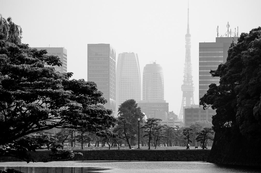 Tokyo silouette - Japan