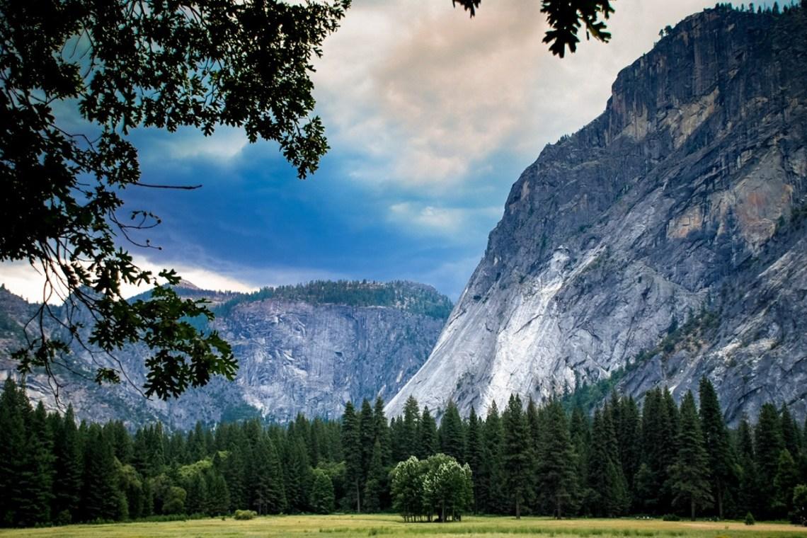 Bad weather - Yosemite - California