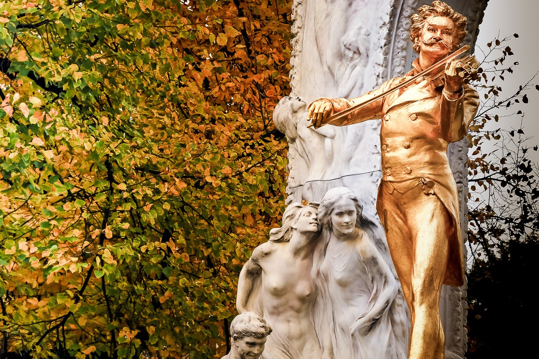 Vienna - Austria - Statue of Mozart