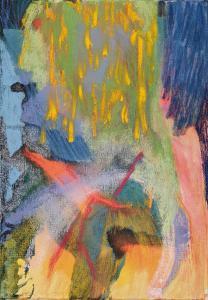 Parsifal 42x30 pastel sur toile  2020 (E)