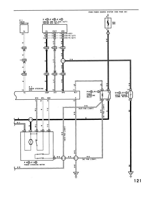 mr power steering pump wiring diagram wiring diagram electric power steering pump fordsix performance forum