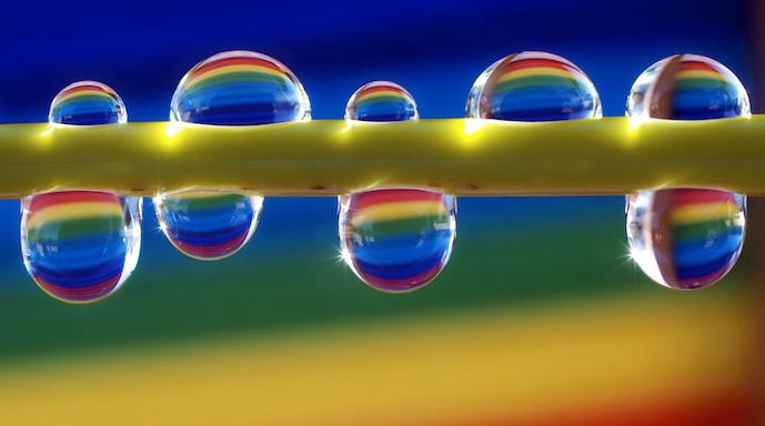 i colori non esistono - arcobaleno