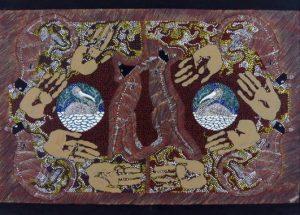 illustrazione scientifica arte aborigena