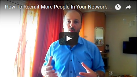 How To Recruit More People IN Your Network Marketing Business Without Being A Magnetic Personality?