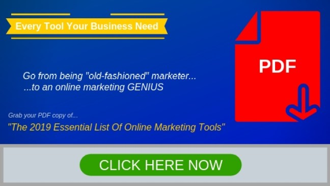 Online Marketing Tools List