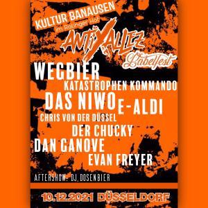 Anti Allez Festival Poster
