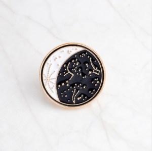 Moon Shape Pin