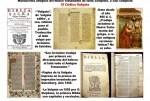 La vulgata (Biblia)Traducción de San Jerónimo al  Latín.