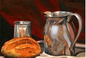 Aprendiendo a ayunar 4: A pan y agua y la eucaristía: Fr. Slavko Barbaric. Audio mp3
