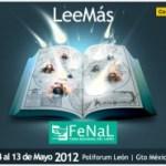 La feria nacional del libro ahora en León guanajuato del 4 al 13 de mayo del 2012.