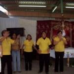 Amancer de alabanza organizado por el ministerio de evangelización de la parroquia de nuestra Señora de Guadalupe «Casa blanca».