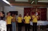 Amancer de alabanza organizado por el ministerio de evangelización de la parroquia de nuestra Señora de Guadalupe